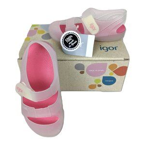 COPY - Igor Kids Clear Bondi Jelly Sandals Water …